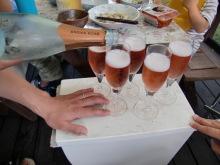 ログハウスでワインを楽しむスローライフ日記-スパークリングワイン