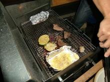 ログハウスでワインを楽しむスローライフ日記-最後のお肉