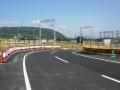 140928橋本小金川踏切周辺の道路工事