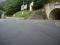 141011笠取IC入り口を右折し、西笠取へ