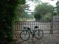 141011京都国際CCへの道は鉄扉で封鎖中