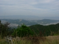 141011京都国際CC激坂下から京都市街方面の眺望