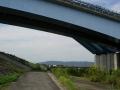 141011宇治川河川敷を御幸橋へ
