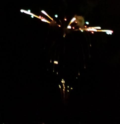 諏訪の花火