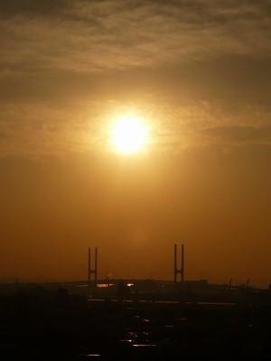朝日きれい