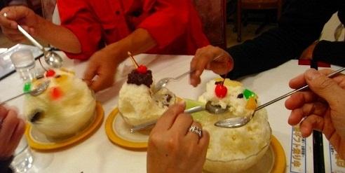 12・2011鹿児島 本家白くまアイス