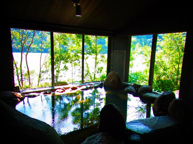 15湖畔遊温泉