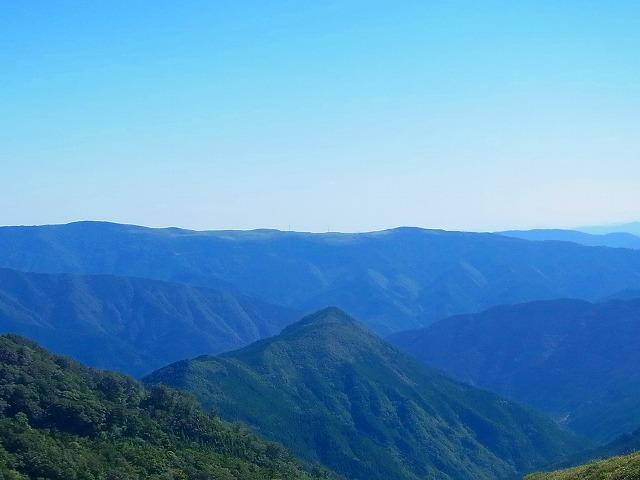 20大川峰へ