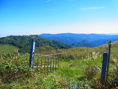 19大川峰へ