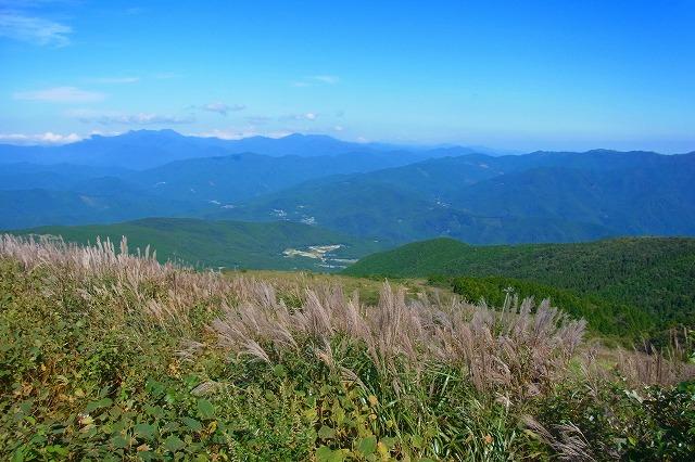 10大川峰へ