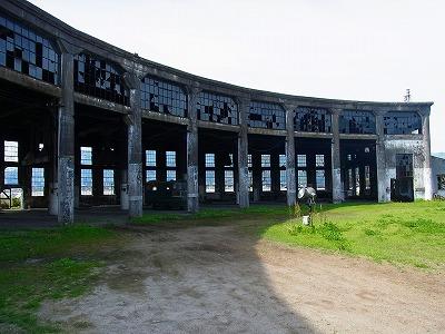 40豊後森機関庫跡