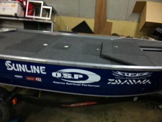 リザーバー用ボート1