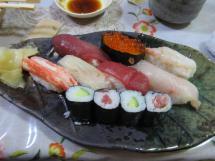 美味しい寿司をいただきました
