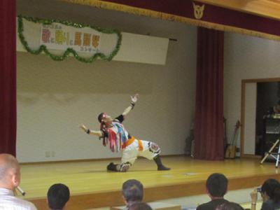 ドガラさん舞踊