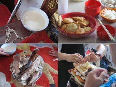 昼食の料理