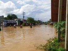 バッタンバンで晴読雨耕-2011コンポンチュナン洪水