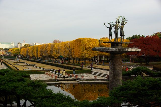 紅葉・昭和記念公園 946