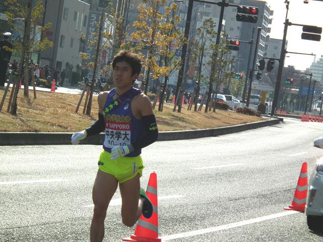中央学院大学の山田選手
