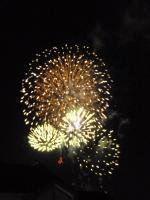 堅田 湖族祭花火