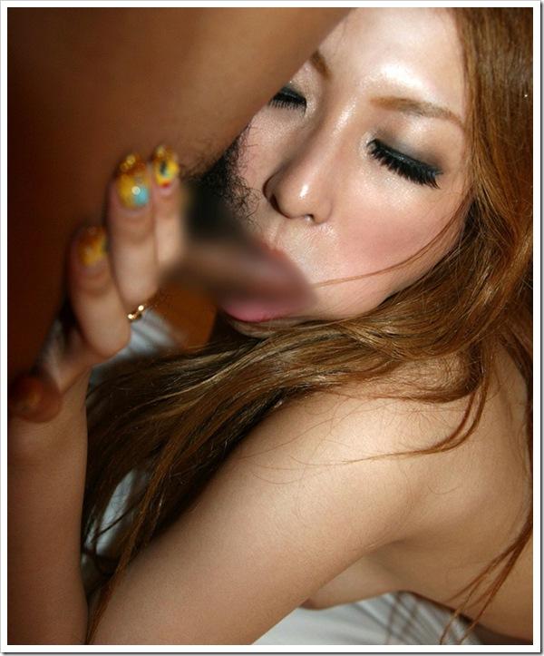 【フェラ顔】ギャル系女子大生の御奉仕だ陰部