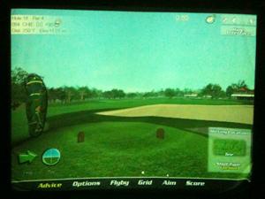シュミレーションゴルフ