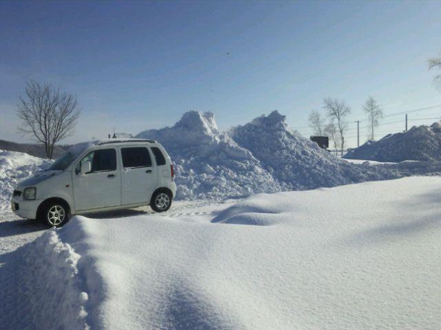 峠の湯 大雪