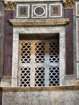 パンテオン神殿内壁(イタリア)