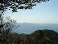 大札山山頂