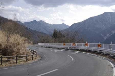 埼玉県道278号秩父多摩甲斐国立公園三峰線