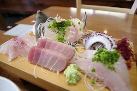 磯料理 魚のカネあ 刺身定食