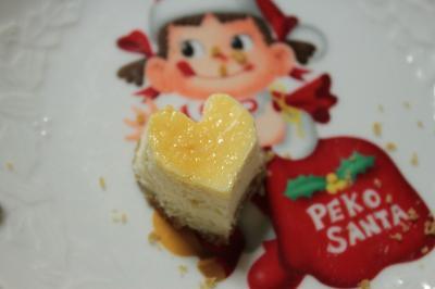 チーズケーキ ハート