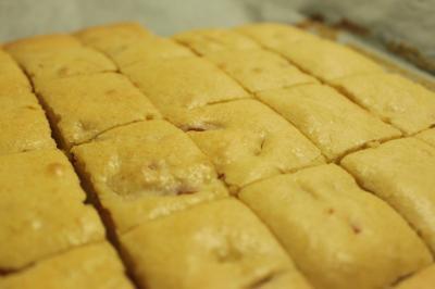 伊予柑ピールのケーキ