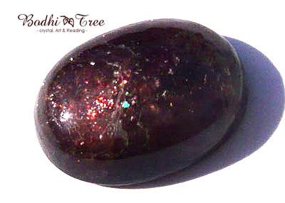 天然石アイオライトサンストーンルース・オーバルe12022471