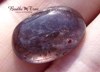 天然石アイオライトサンストーンルース・オーバルf12022477