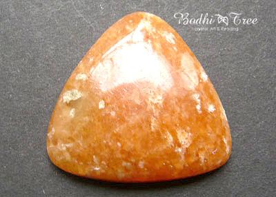 天然石オレンジカルサイト・ルースc120110126