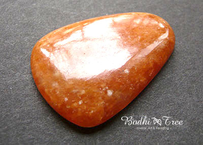 天然石オレンジカルサイト・ルースd120110136