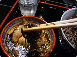 鶏蕎麦 4