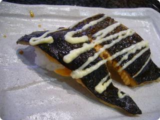 魚がし鮨 焼き鮭