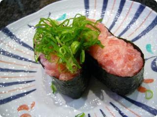 魚がし鮨 ネギトロ