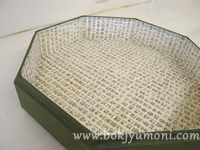 韓紙工芸・九折板を製作中@近鉄文化サロン奈良その3