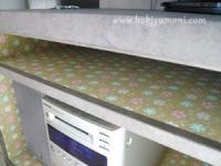 韓紙工芸@IKEA家具のリフォーム(TV台)その3