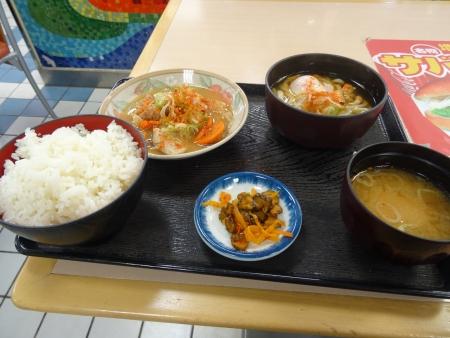 黒姫野尻湖PAの朝食