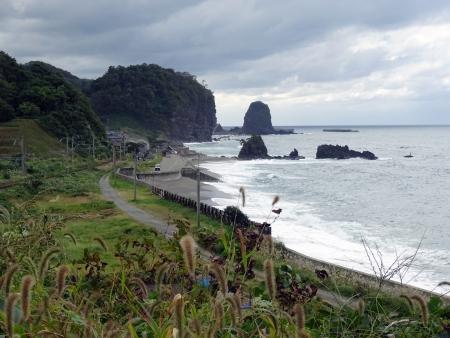 村上市碁石海岸