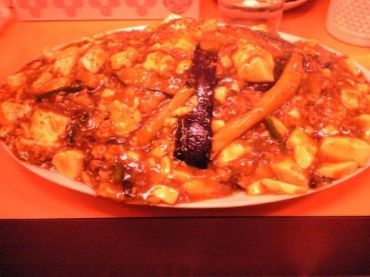 華獅子菜館 王様の麻婆丼2