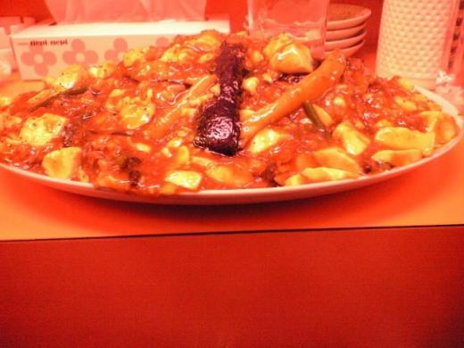 華獅子菜館 王様の麻婆丼1
