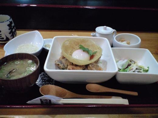 龍寿 「オホーツク網走ザンギ丼」2