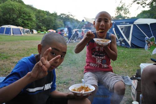 キャンプ③