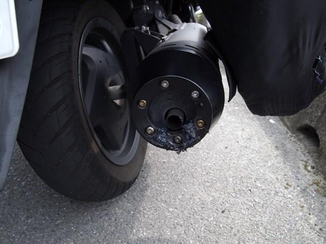 バイク極小損②