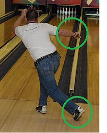 バランス 足と腕2