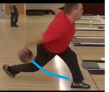 ボールを押す距離